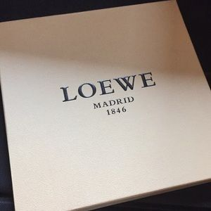 Loewe Wool Silk Scarf